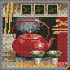 ФПК-6007 Азиатский чай Схема для вышивки бисером Феникс