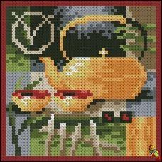 ФПК-6006 Азиатский чай - травяной. Схема для вышивки бисером Феникс
