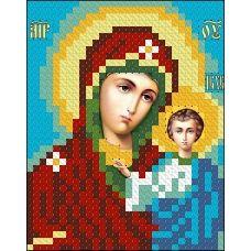ИК7-0007 Казанская икона Божьей Матери. Схема для вышивки бисером Феникс