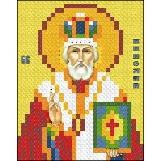 ИК7-0006 Святой Николай Чудотворец. Схема для вышивки бисером Феникс