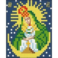 ИК7-0005 Остробрамская икона Божьей Матери. Схема для вышивки бисером Феникс