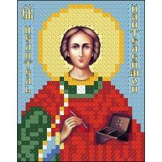 ИК7-0023 Святой Пантелеймон Целитель. Схема для вышивки бисером Феникс