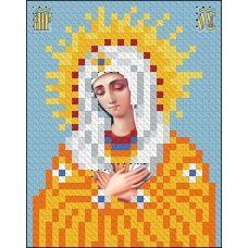 ИК7-0013 Божья Матерь Умиление. Схема для вышивки бисером Феникс