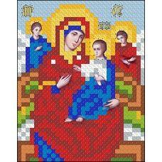 ИК7-0022 Божья Матерь Всецарица. Схема для вышивки бисером Феникс