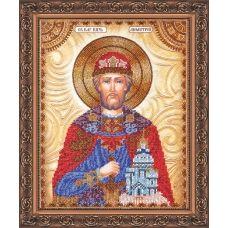 АА-001 Святой Дмитрий. Набор для вышивки бисером. Абрис Арт