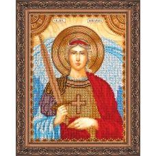 АА-010 Святой Михаил. Набор для вышивки бисером. Абрис Арт