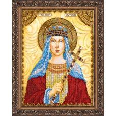"""АА-023 """"Святая Екатерина"""". Набор для вышивки бисером. Абрис Арт"""