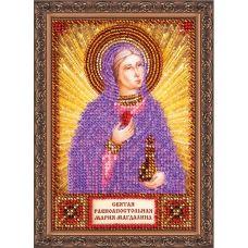 """ААМ-014 """"Святая Мария"""". Набор для вышивки бисером. Абрис Арт"""