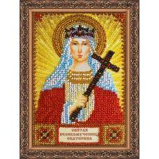 """ААМ-023 """"Святая Екатерина"""". Набор для вышивки бисером. Абрис Арт"""