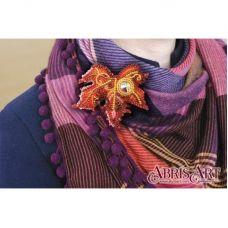AD-018 Набор для вышивки бисером украшения на натуральном художественном холсте