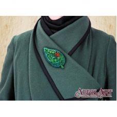 AD-019 Набор для вышивки бисером украшения Маленькая гостья. ТМ Абрис Арт.