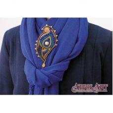 AD-021 Набор для вышивки бисером украшения Эгретка. ТМ Абрис Арт.