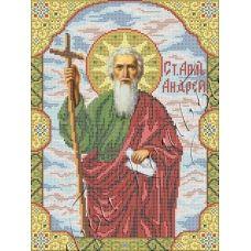ИК3-0263 Святой апостол Андрей Первозванный. Схема для вышивки бисером Феникс