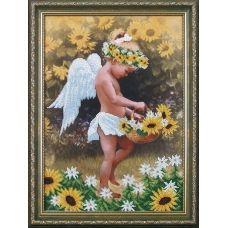 Б-017 Мой ангел. Набор для вышивки бисером Магия канвы