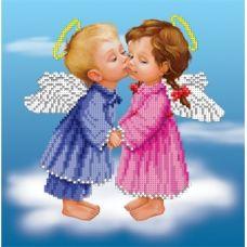 БИС-2912 Волшебный поцелуй. Схема для вышивки бисером Арт Лар