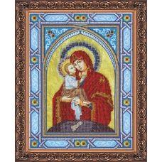 АВ-059 Богородица Почаевская. Набор для вышивки бисером. Абрис Арт