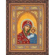 АВ-074 Богородица Казанская. Набор для вышивки бисером. Абрис Арт