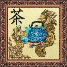 АВ-113 Китайское чаепитие. Набор для вышивки бисером. Абрис Арт