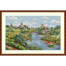 К-57 Весенний пейзаж.ТМ Мережка