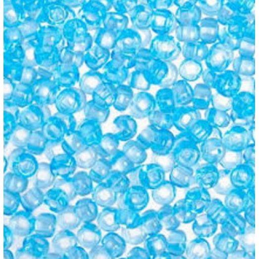 60000 Бисер Preciosa светло-голубой прозрачный классика
