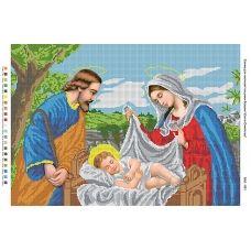 БА2-001 Святое семейство. Схема для вышивки бисером Вышиванка