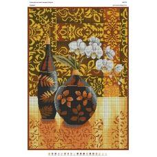 БА2-039 Орхидеи. Схема для вышивки бисером Вышиванка