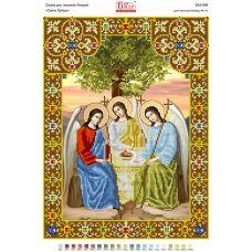 БА3-506 Святая Троица. Схема для вышивки бисером ТМ Вышиванка