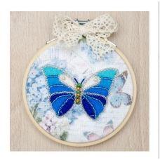 ВК-1036 Бабочка. Набор для вышивки нитками ТМ ВДВ