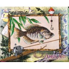 АВ-592 Удачная рыбалка. Набор для вышивки бисером. Абрис Арт