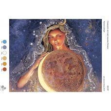 БА3-081 Богиня луны. Схема для вышивки бисером ТМ Вышиванка
