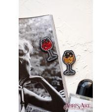 AD-053 Набор для вышивки бисером украшения Искристое. ТМ Абрис Арт