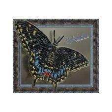 BGP-003 Набор для вышивки Бабочка - Черный Махаон. ТМ Вдохновение