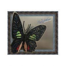 BGP-006 Набор для вышивки Бабочка - Parides sesostris zestos. ТМ Вдохновение