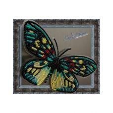 BGP-007 Набор для вышивки Бабочка - Erasmia Pulehera. ТМ Вдохновение