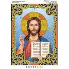 А3Р_106 БКР-3345 Иисус Христос. Схема для вышивки бисером TM Virena