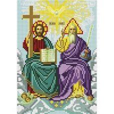 А5-И-130 Бог Отец, Бог Сын и Дух Святой. Схема для вышивки бисером ТМ Acorns