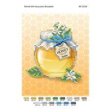 БС-5139 Мёд. Схема для вышивки бисером ТМ Сяйво