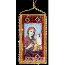 АВО-003-01 Молитва к Божией матери о детях (укр). Набор для вышивки бисером Абрис Арт