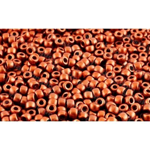01750 Красно-коричневый металлик, непрозрачный Бисер Preciosa