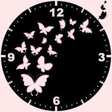 CR-003(27*27) Бабочки. Схема для вышивки бисером Свит Арт