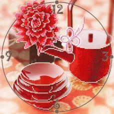 CR-008(27*27) Чашка чая. Схема для вышивки бисером Свит Арт