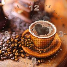 CR-013(27*27) Чашка кофе. Схема для вышивки бисером Свит Арт