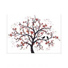 А4-К-250 Дерево любви. Схема для вышивки бисером ТМ Acorns