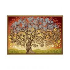 А4-К-251 Дерево счастья. Схема для вышивки бисером ТМ Acorns