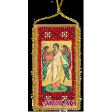 АВО-001-01 Молитва Ангелу-хранителю (укр). Набор для вышивки бисером Абрис Арт