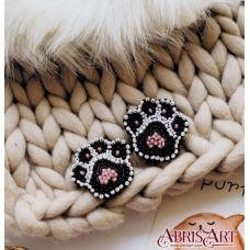 AD-024 Лапки. Набор для вышивки бисером украшения ТМ Абрис Арт