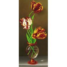 EF-021(17*39)  Тюльпаны. Схема для вышивки бисером СвитАрт