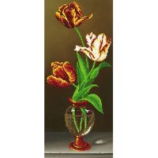 EF-022(17*39)  Тюльпаны. Схема для вышивки бисером СвитАрт