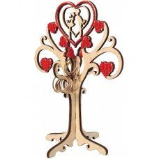 F-019 Дерево любви. Набор с фанерной заготовкой ТМ Чаривна Мить