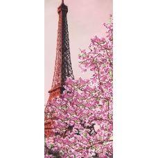 F-294 (24*55) Весенний Париж. Схема для вышивки бисером СвитАрт